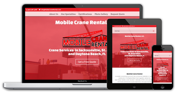 Mobile friendly website design franklin nc