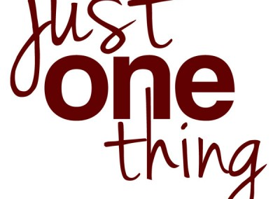 Just One Thing Logo