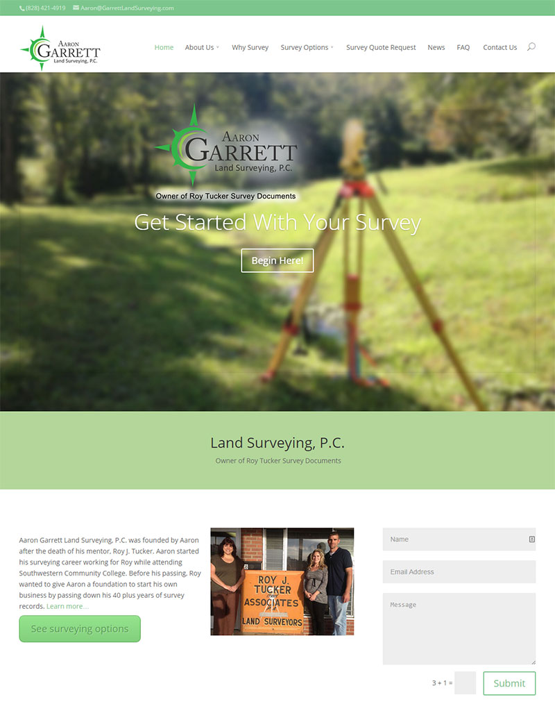 Garrett Land Surveying