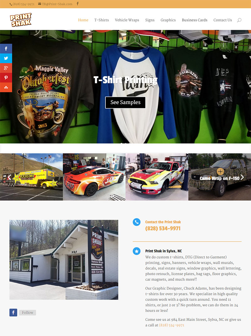 The Print Shak – Signs, T-shirts, Banners, and Vehicle Wraps