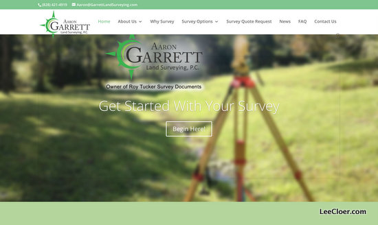 Garrett Land Surveying Franklin NC