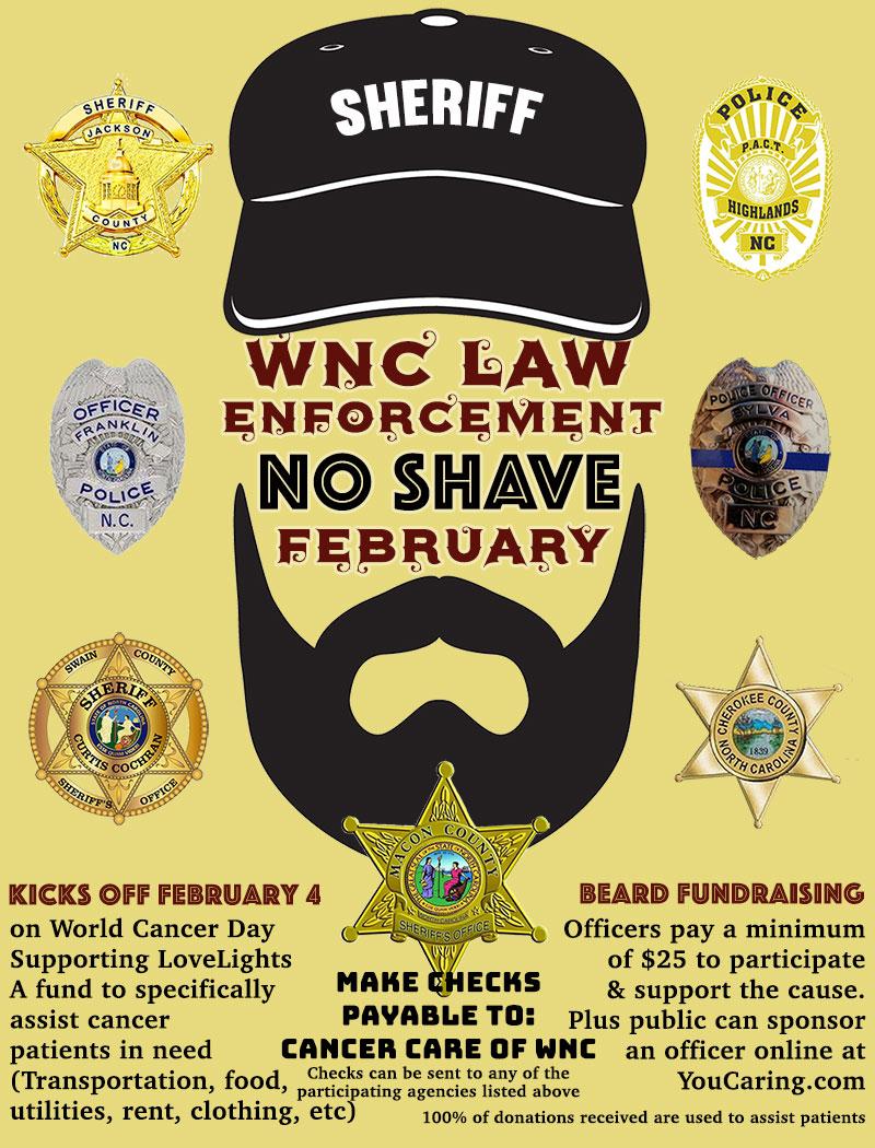 WNC Law Enforcement No Shave February