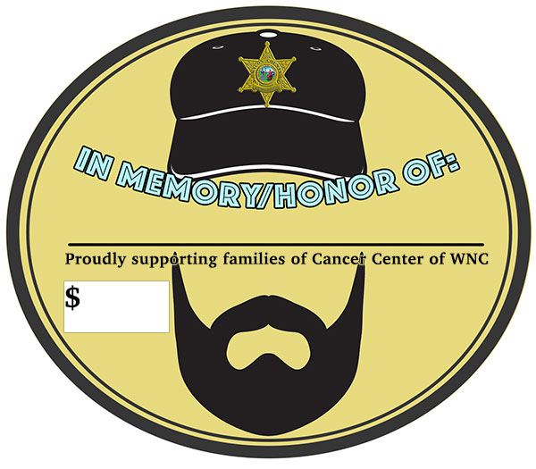 Donation Sticker – No Shave February