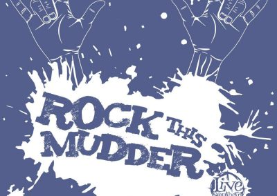 Rock This Mudder Mud Run Team Tshirt