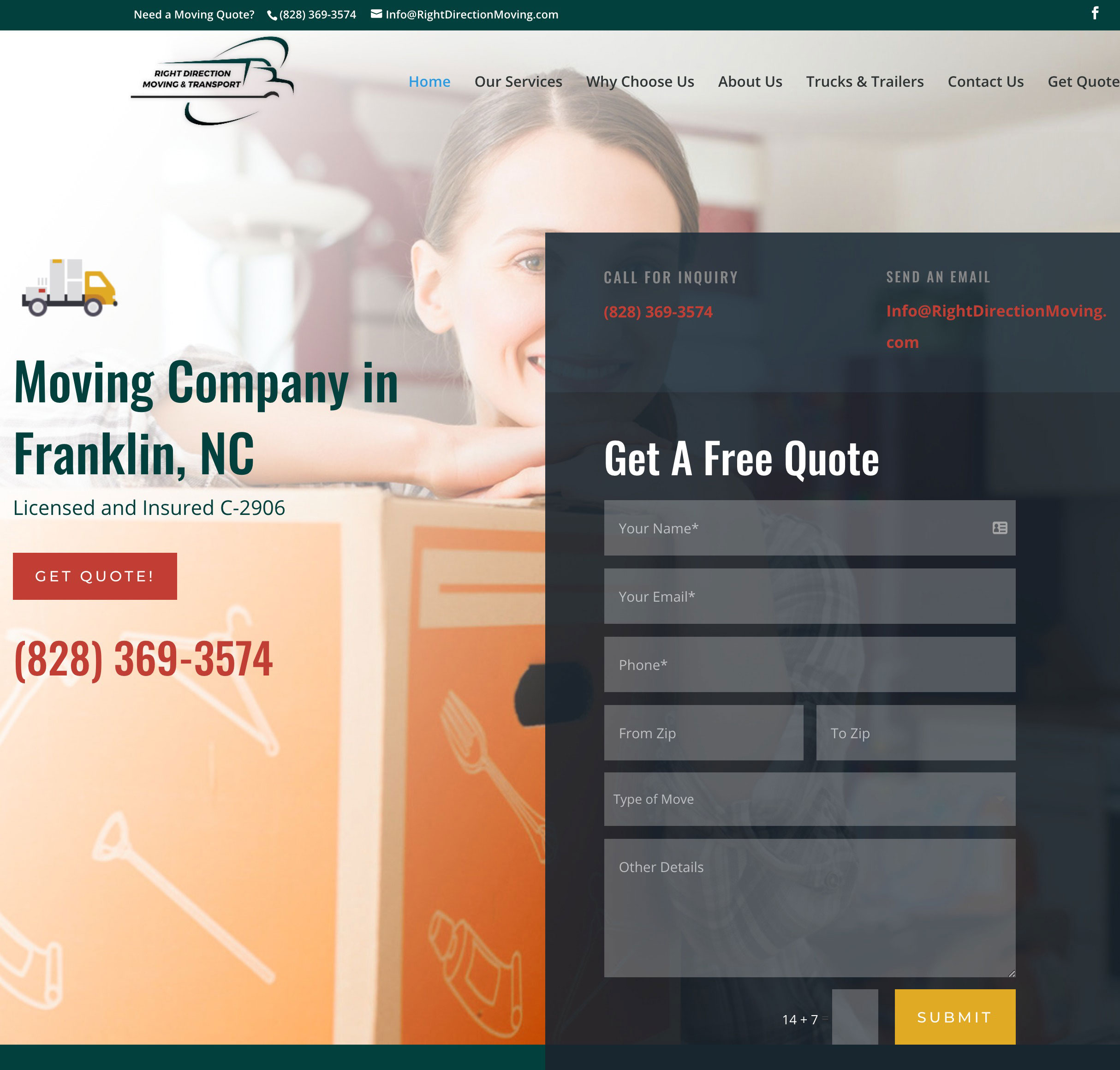 professional movers franklin nc