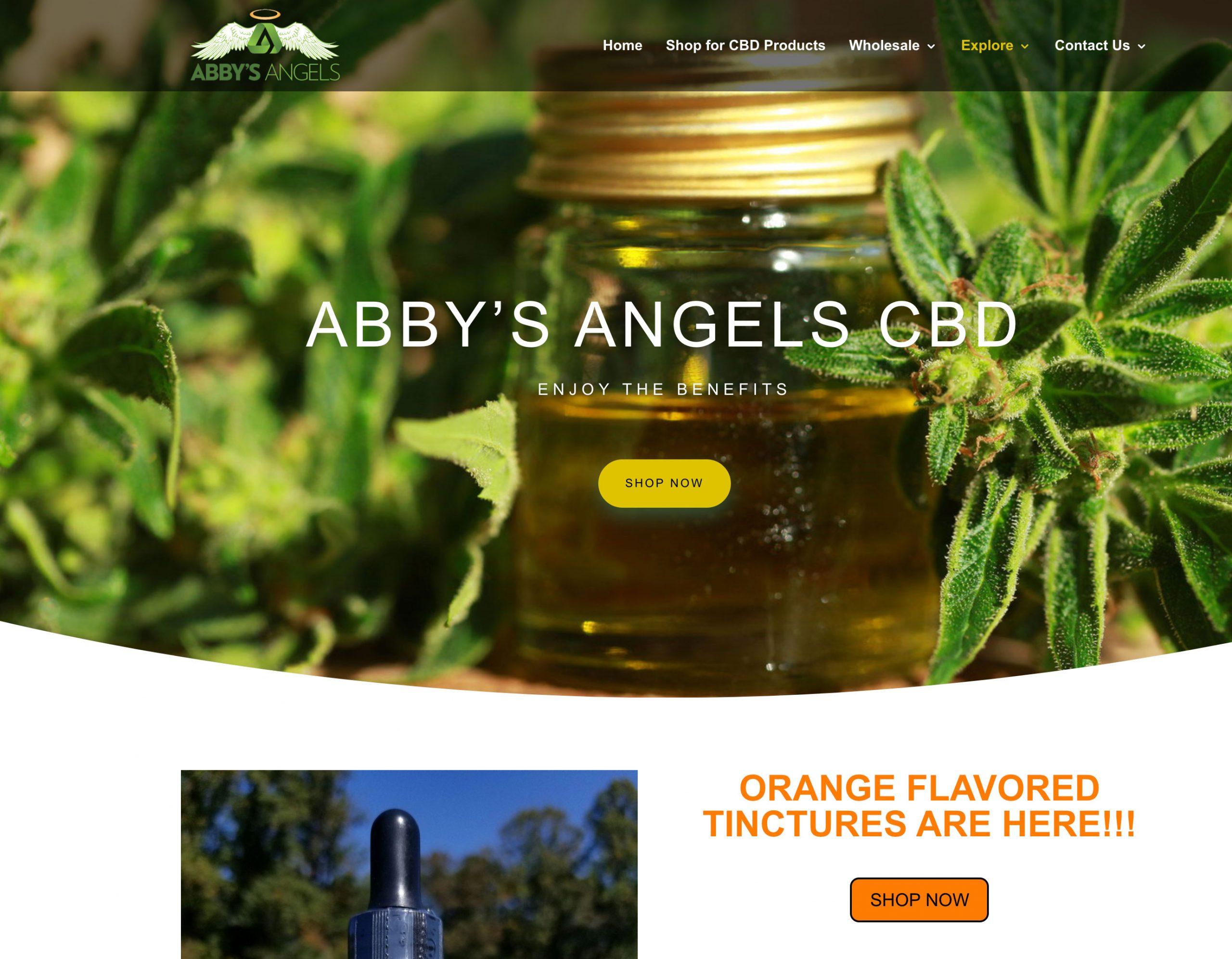 abbys angels CBD