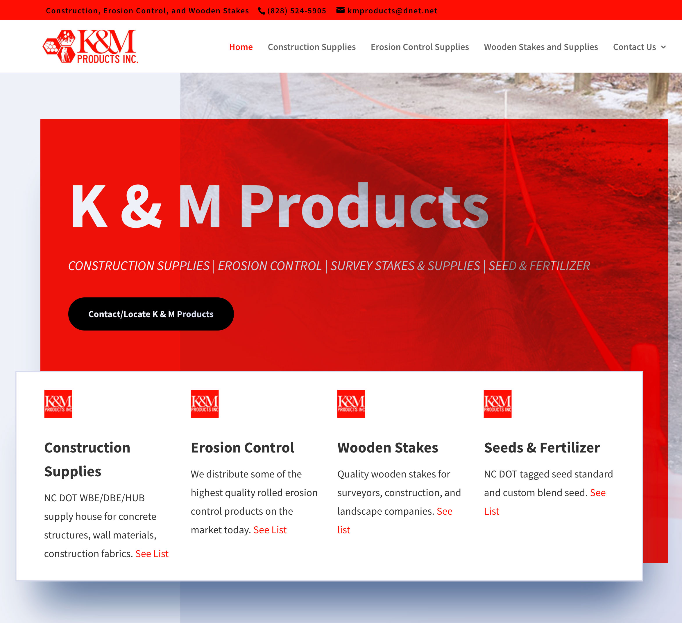 k and m products